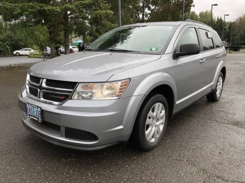 Certified Pre-Owned 2016 Dodge Journey SE 7-Passenger, 1-Owner, CERTIFIED, Clean Carfax