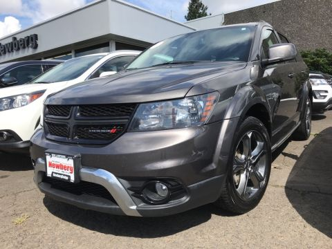 Certified Pre-Owned 2017 Dodge Journey Crossroad AWD, Certified 1-Owner with 3rd Row Seats