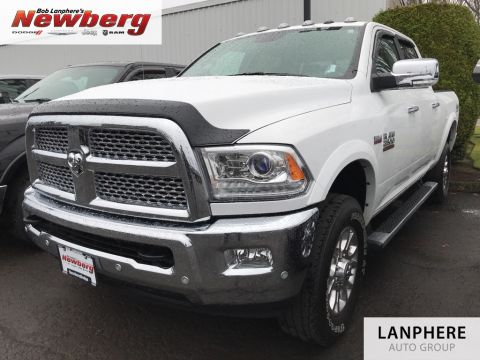 Certified Pre-Owned 2017 Ram 2500 Laramie Clean Carfax, One Owner, Leather, Certified!