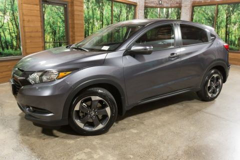 Pre-Owned 2018 Honda HR-V EX AWD, 1-Owner, Sunroof, Heated Seats