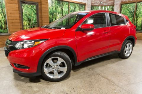 Certified Pre-Owned 2016 Honda HR-V EX Clean Carfax, Moonroof, Back Up Camera!