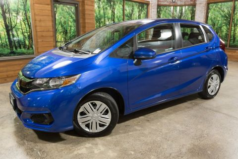 Certified Pre-Owned 2018 Honda Fit LX CERTIFIED 1-Owner, Only 5500 Miles