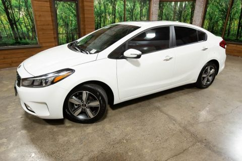 Certified Pre-Owned 2018 Kia Forte S with Tech Plus Pkg, 1-Owner, Sunroof, CERTIFIED