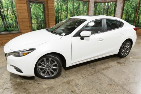 Pre-Owned 2018 Mazda3 Grand Touring Premium Equipment Pkg, Navigation, Sunroof