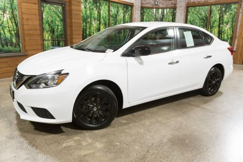 Pre-Owned 2018 Nissan Sentra S Midnight Edition (1-Owner)