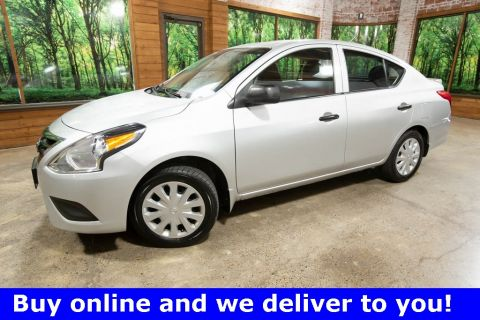 Pre-Owned 2015 Nissan Versa 1.6 S Plus 1-Owner