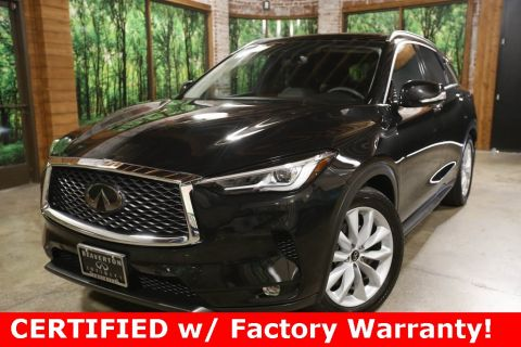 Certified Pre-Owned 2019 INFINITI QX50 ESSENTIAL AWD, ProAssist Pkg, Sunroof, CERTIFIED