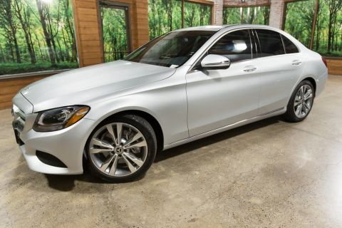Pre-Owned 2018 Mercedes-Benz C-Class C 300 Oregon Car, Sunroof, Navigation, Sport Heated Seat