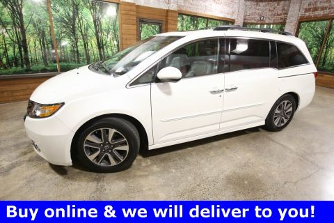 Pre-Owned 2015 Honda Odyssey Touring 1-Owner, DVD, Sunroof, Navigation