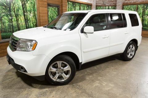 Pre-Owned 2014 Honda Pilot EX-L 4WD, 1-Owner, Sunroof, Heated Leather Seats