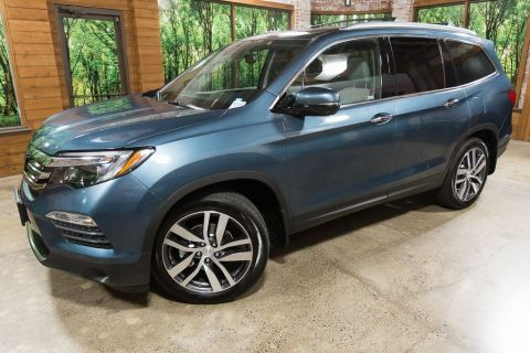 Certified Pre-Owned 2018 Honda Pilot Elite AWD, Tow Pkg, DVD, Navigation, Certified