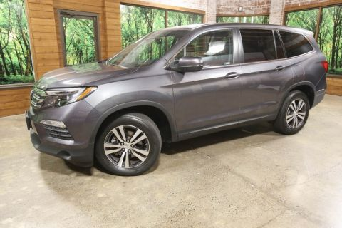 Certified Pre-Owned 2018 Honda Pilot EX-L AWD, Sunroof, 1-Owner, CERTIFIED