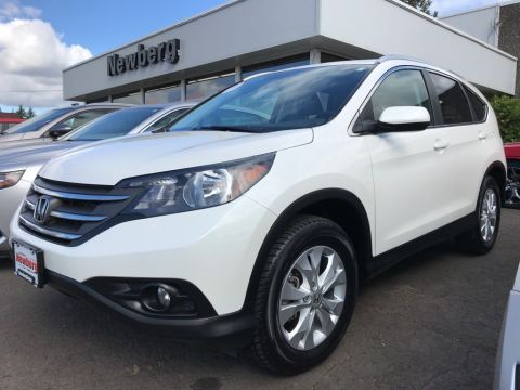 Pre-Owned 2013 Honda CR-V EX-L AWD, Clean Carfax, Local Trade! LOW Miles!