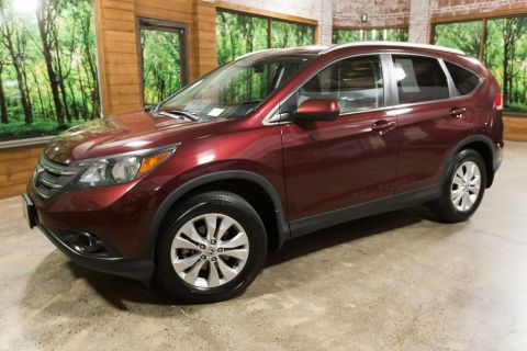 Pre-Owned 2014 Honda CR-V EX-L Leather Heated Seats, Sunroof, LOW Miles