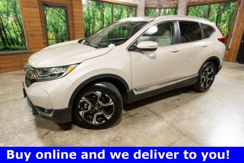 Certified Pre-Owned 2017 Honda CR-V Touring AWD, Certified, 1-Owner, Navigation, Sunroof
