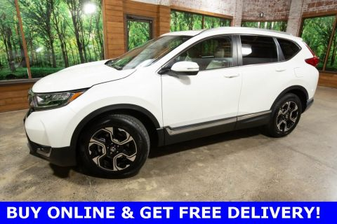 Certified Pre-Owned 2018 Honda CR-V Touring AWD, Certified, 1-Owner, Sunroof, Navigation
