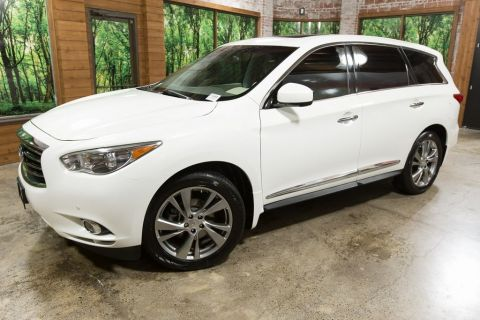 Pre-Owned 2013 INFINITI JX35 Base Deluxe Touring, DVD. No Accidents, 3rd Row