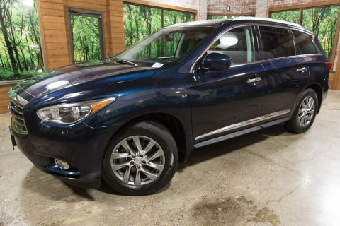 Certified Pre-Owned 2015 INFINITI QX60 Base Premium Plus PKG, One Owner, AWD, Navigation