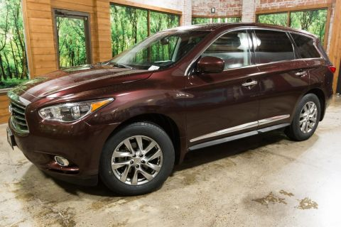 Certified Pre-Owned 2015 INFINITI QX60 Base One Owner, Certified