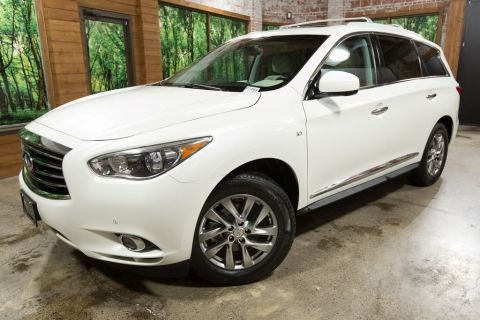 Certified Pre-Owned 2015 INFINITI QX60 Base Premium Plus PKG, One Owner