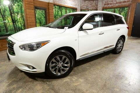 Pre-Owned 2015 INFINITI QX60 1-OWNER, 3RD ROW, SUNROOF, LEATHER