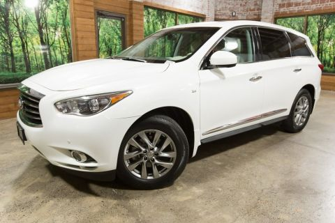 Pre-Owned 2014 INFINITI QX60 Base Premium, Premium Plus PKG, Navigation, Moonroof, 1