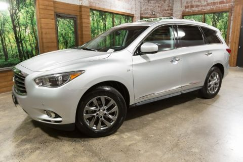 Certified Pre-Owned 2015 INFINITI QX60 Base Premium Plus PKG, Tow Pkg, One Owner