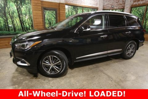 Certified Pre-Owned 2016 INFINITI QX60 AWD, Certified, Premium Plus Pkg, Sunroof