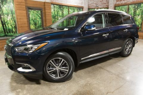 Certified Pre-Owned 2016 INFINITI QX60 AWD, Driver Assist Pkg, Sunroof, CERTIFIED
