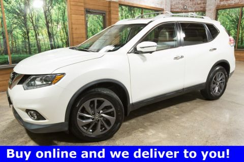 Pre-Owned 2016 Nissan Rogue SL AWD with Premium Package, Sunroof, Navigation