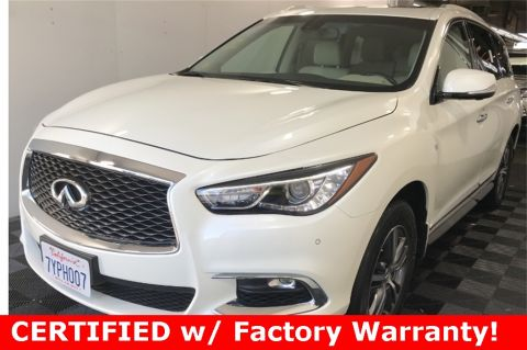 Certified Pre-Owned 2017 INFINITI QX60 AWD, Premium Plus Pkg, CERTIFIED