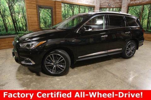 Certified Pre-Owned 2017 INFINITI QX60 AWD, Tech Pkg, Theatre Pkg, CERTIFIED