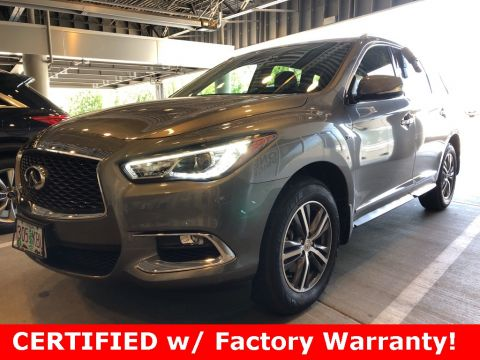 Certified Pre-Owned 2017 INFINITI QX60 AWD, Premium Plus Pkg, 1-Owner, CERTIFIED