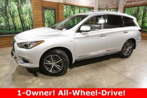 Certified Pre-Owned 2017 INFINITI QX60 AWD, Driver Assist Pkg, CERTIFIED, Sunroof