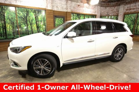 Certified Pre-Owned 2017 INFINITI QX60 AWD, Premium Plus Pkg, Navigation, CERTIFIED