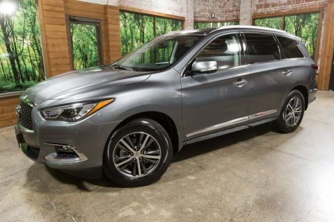 Certified Pre-Owned 2018 INFINITI QX60 Base Premium Package, Premium Plus Package