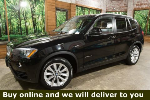 Pre-Owned 2016 BMW X3 xDrive28d AWD Diesel, Navigation, Heated Seats, Pano Roof