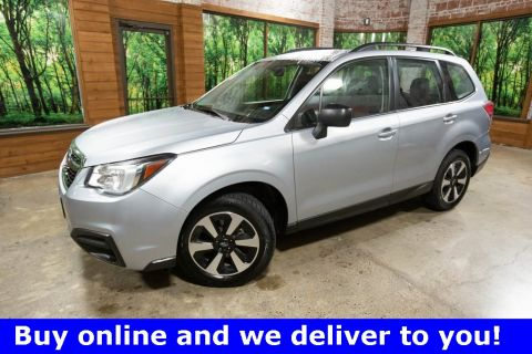 Pre-Owned 2018 Subaru Forester 2.5i AWD, 1-Owner