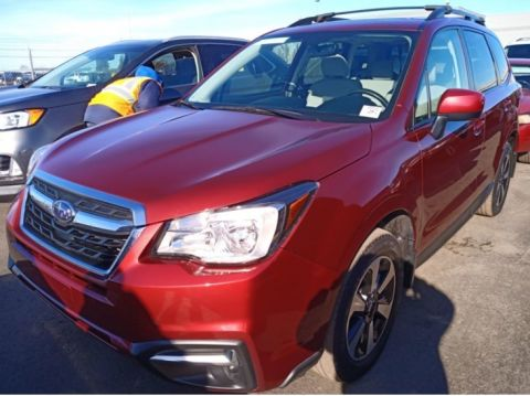 Pre-Owned 2017 Subaru Forester 2.5i Premium AWD, Panoramic Sunroof, Heated Seats, 1-Owner