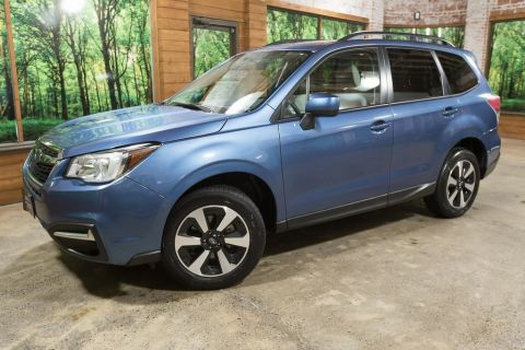 Pre-Owned 2017 Subaru Forester 2.5i Premium AWD, 1-Owner, Heated Seats, Panoramic Sunroof
