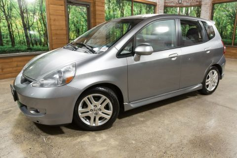 Pre-Owned 2007 Honda Fit Sport 1-Owner, Automatic, 37 MPG