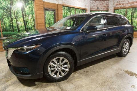 Pre-Owned 2016 Mazda CX-9 Touring AWD, Navigation, Sunroof, Leather Heated Seats