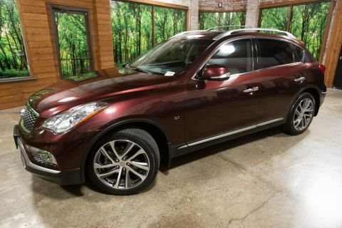 Certified Pre-Owned 2017 INFINITI QX50 AWD, Certified, Touring Pkg, Tech Pkg, Sunroof