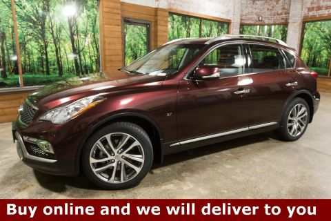 Certified Pre-Owned 2017 INFINITI QX50 AWD, Tech Pkg, Touring Pkg, CERTIFIED, 1-Owner