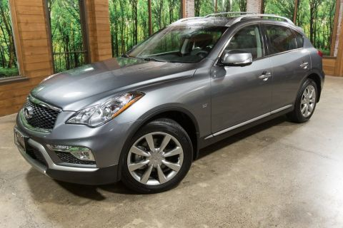 Certified Pre-Owned 2017 INFINITI QX50 Base Premium Plus, Navigation, One Owner, Certified
