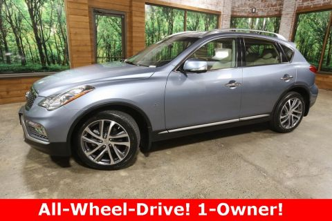 Certified Pre-Owned 2017 INFINITI QX50 AWD, Tech Pkg, Touring Pkg, CERTIFIED