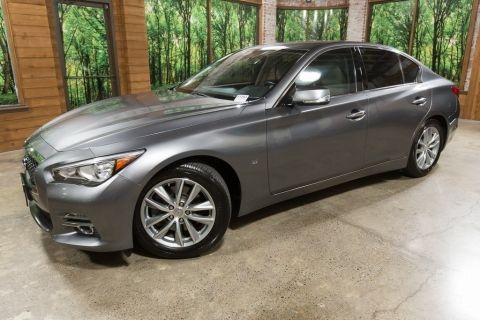 Certified Pre-Owned 2015 INFINITI Q50 Premium One Owner, Certified, Leather, Moon Roof