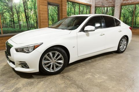 Certified Pre-Owned 2015 INFINITI Q50 Premium Navigation Package, Cargo Package, 1-Owner