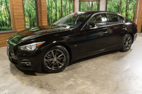 Certified Pre-Owned 2015 INFINITI Q50 Premium Navigation, Wheel/Tire PKG, Leather