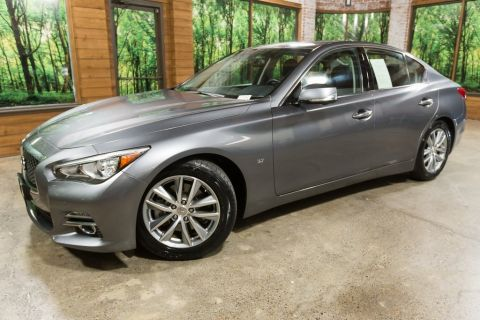 Certified Pre-Owned 2015 INFINITI Q50 Premium Deluxe Touring, One Owner, Navigation